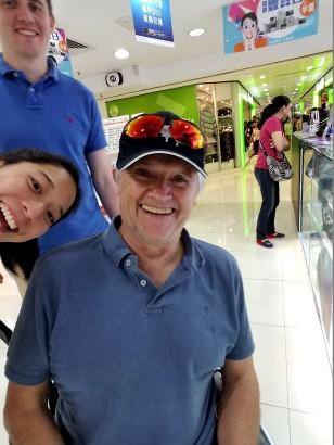 HK airport farwell